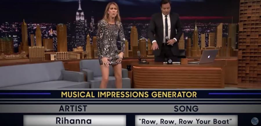 Celine Dion w programie, którego gospdarzem jest Jimmy Fallon