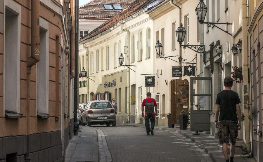 Wilno - stolica Litwy, centrum miasta