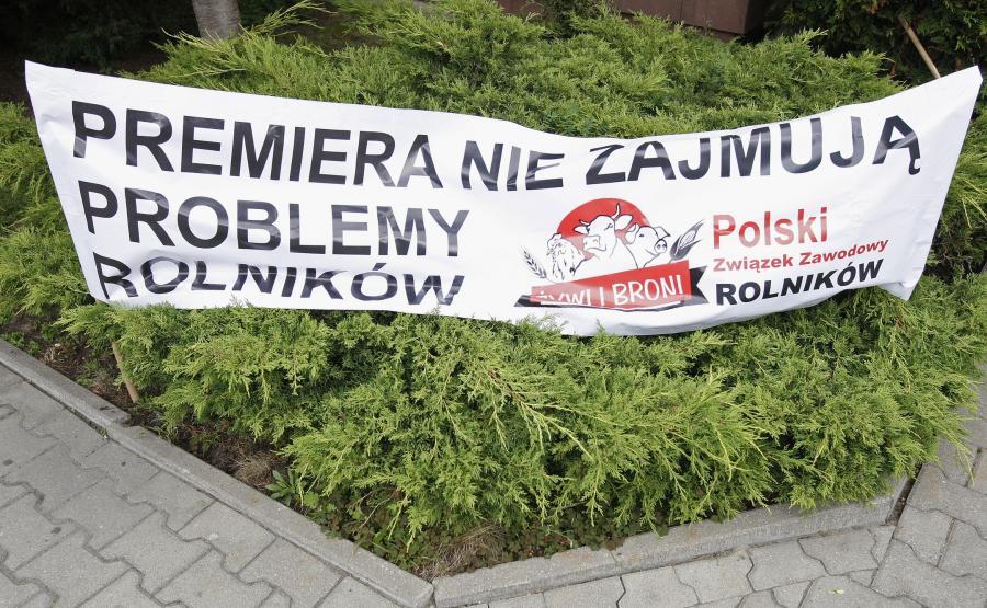 Protest rolników w Białymstoku