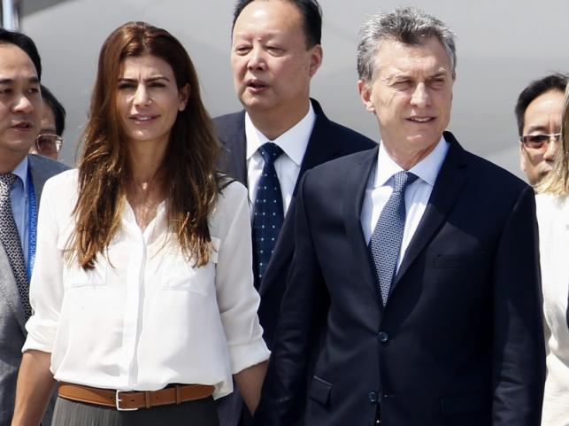 Juliana Awada i Mauricio Macri