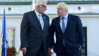 Witold Waszczykowski i Boris Johnson