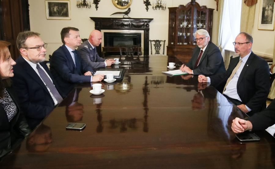 Spotkanie w Londynie
