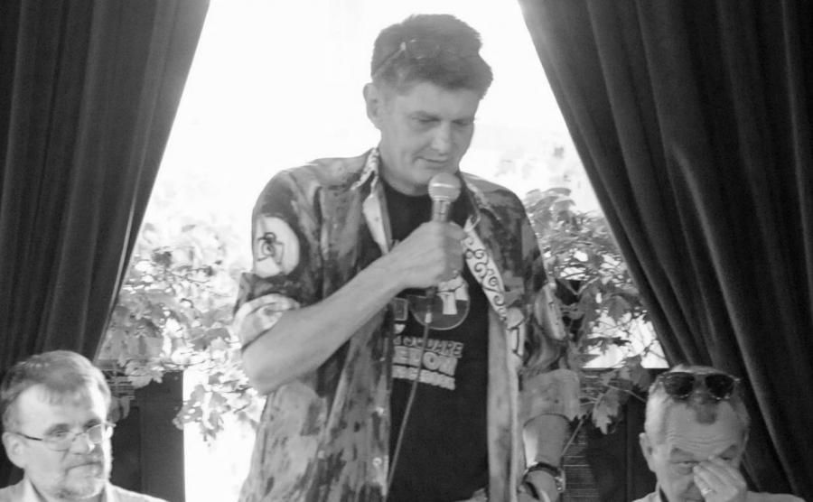 Krzysztof Miller na promocji swojej ksiązki \