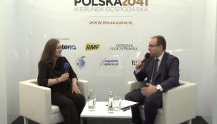 Anna Pawlak-Kuliga w czasie Forum Ekonomicznego w Krynicy