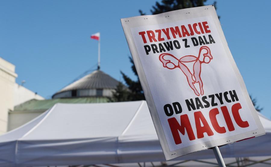 Demonstracja przed Sejmem pod hasłem \
