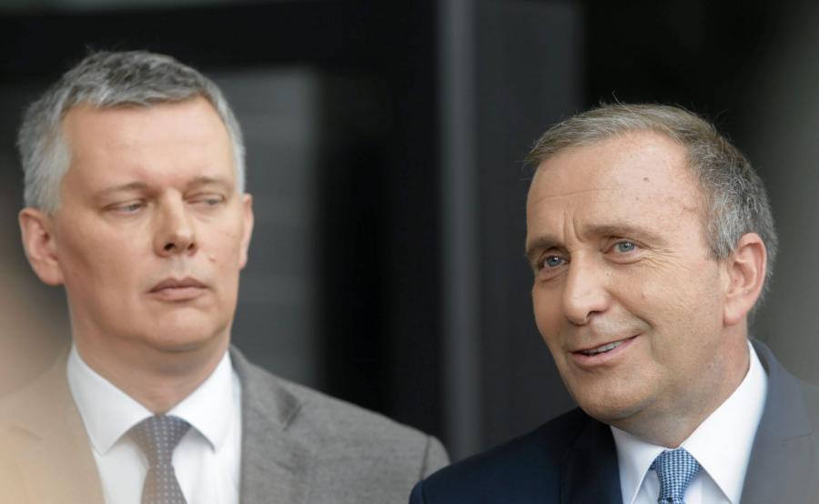 Tomasz Siemoniak i Grzegorz Schetyna
