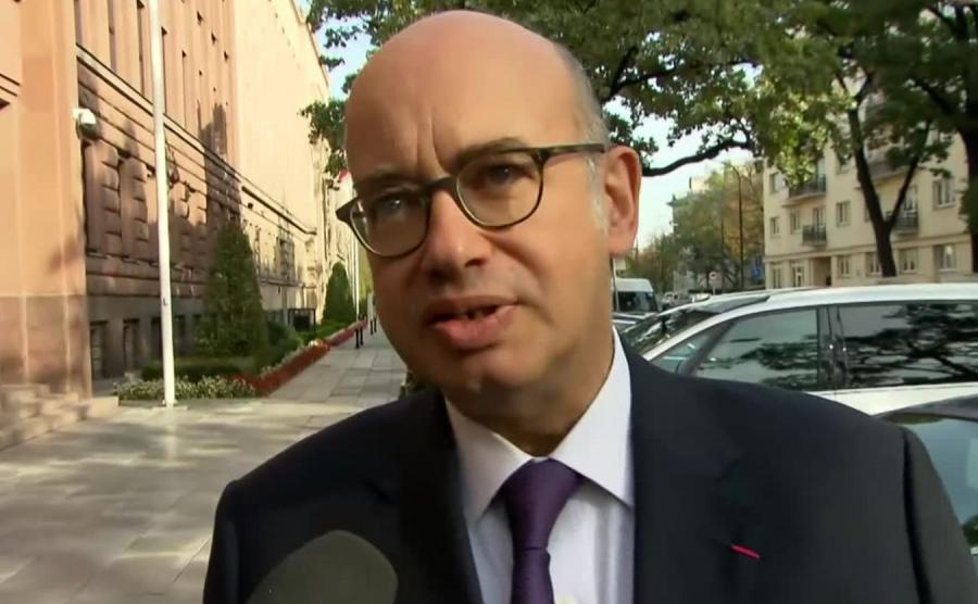 Ambasador Francji w Polsce Pierre Lévy