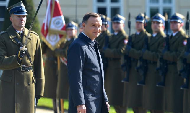 Andrzej Duda ugościł czterech prezydentów na zamku w Łańcucie. O czym rozmawiali?
