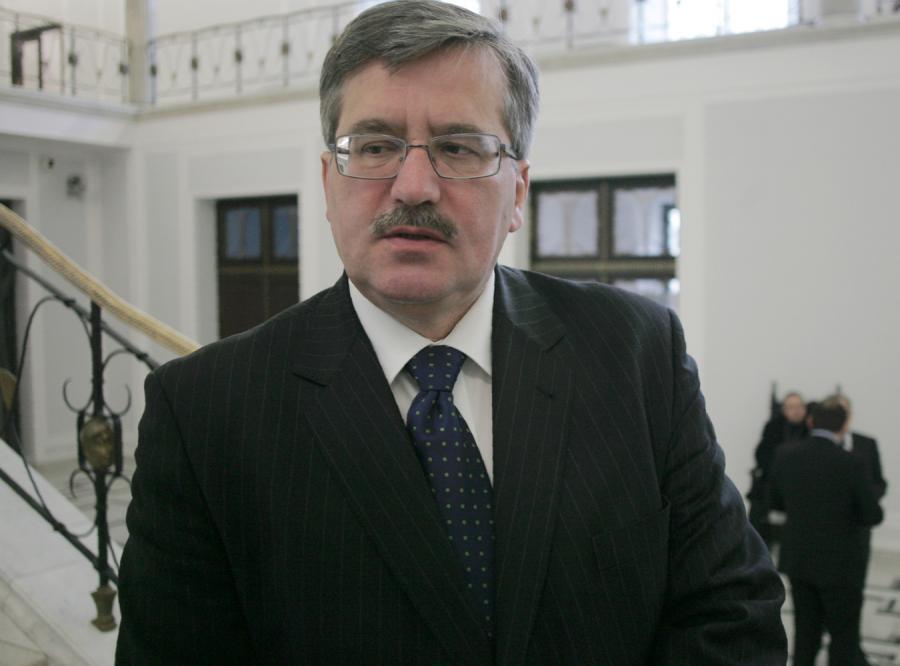 Komorowski: komisja może powstać