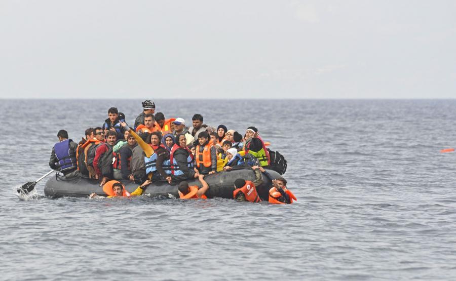Imigranci na morzu