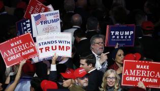 Wybory prezydenckie w USA. Zwolennicy Donalda Trumpa