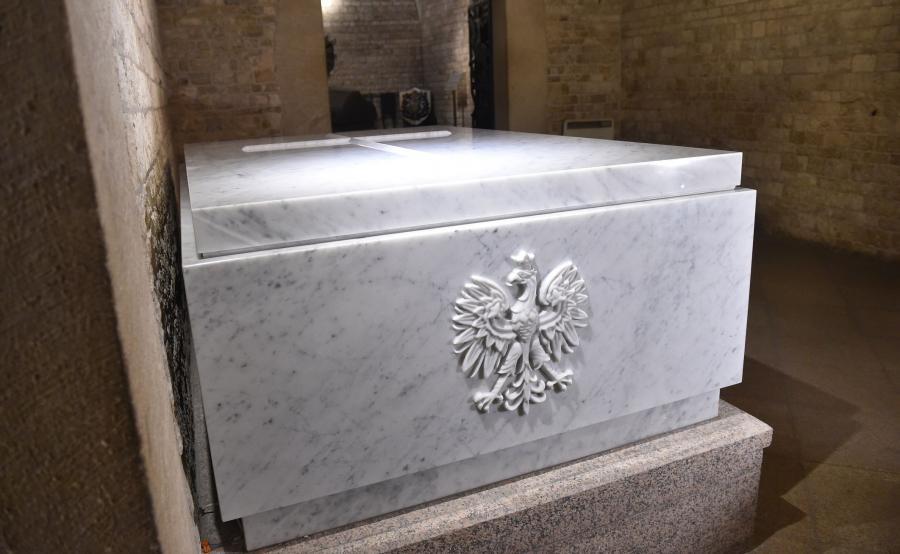 Sarkofag pary prezydenckiej