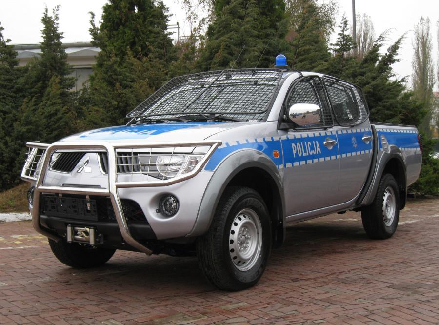 Mitsubishi wyrzutnią granatów - nowa broń policji