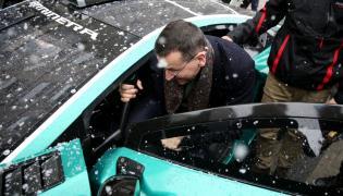 Mateusz Morawiecki i Arrinera Hussarya GT