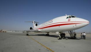 Rządowy tupolew Tu-154M