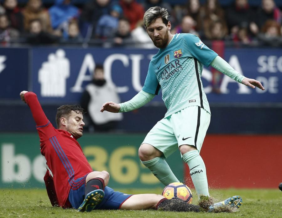 Oriol Riera i Lionel Messi