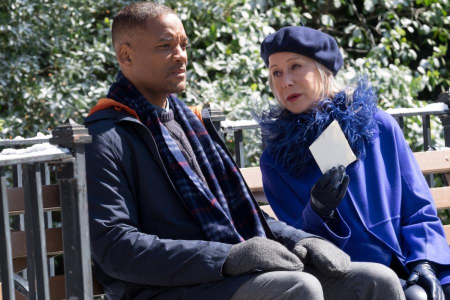 """Will Smith i Hellen Mirren w filmie """"Ukryte Piękno"""". Premiera 25 grudnia 2016. fot. materiały prasowe"""