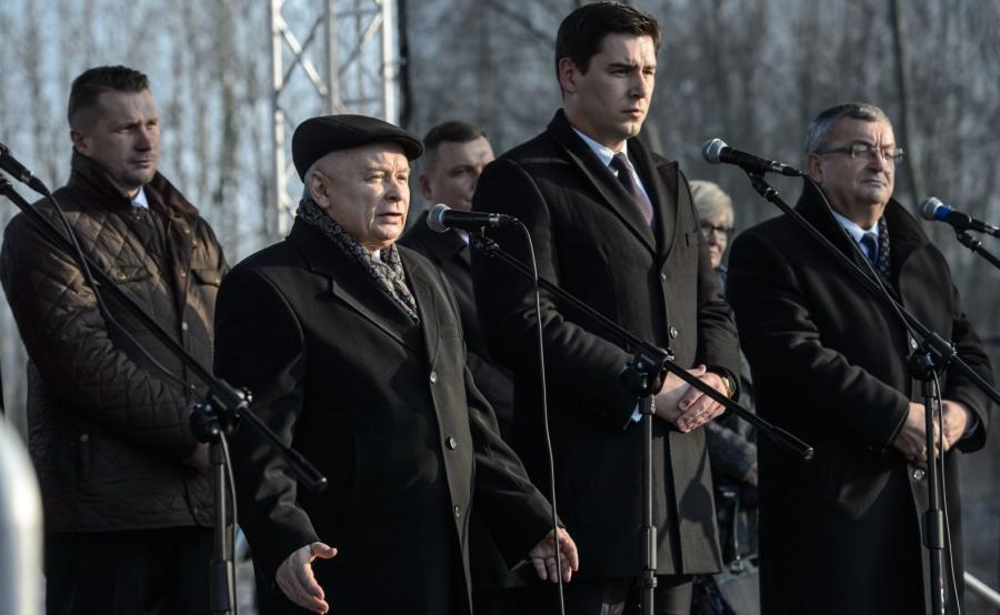 Jarosław Kaczyński, Przemysław Czarnek, Dariusz Stefaniuk, Andrzej Adamczyk