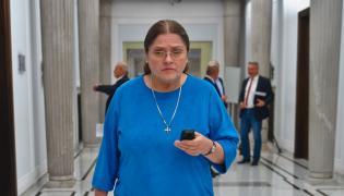 Posłanka PiS Krystyna Pawłowicz w Sejmie