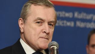 Wicepremier, minister kultury i dziedzictwa narodowego Piotr Gliński
