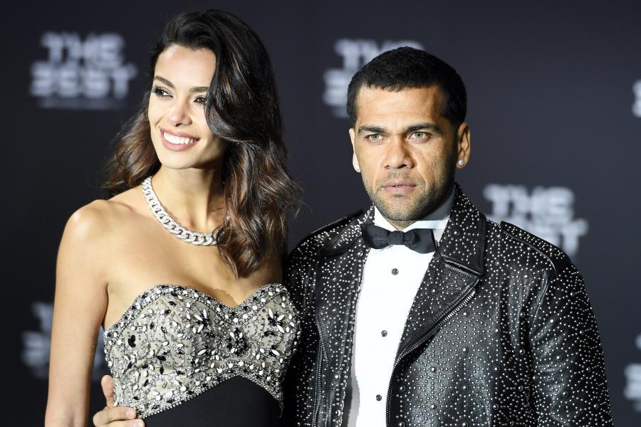 Dani Alves i jego dziewczyna, Joana Sanz