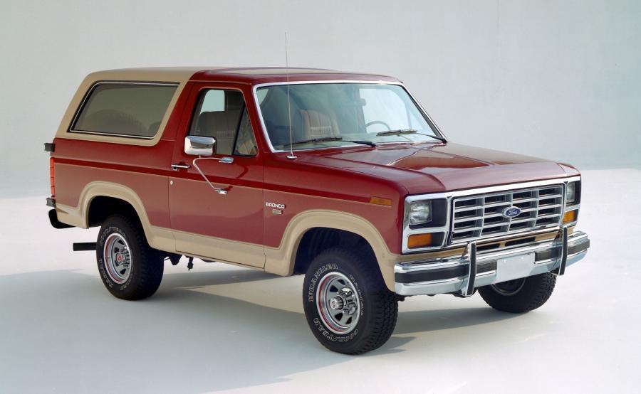 Ford bronco - 1983 rok