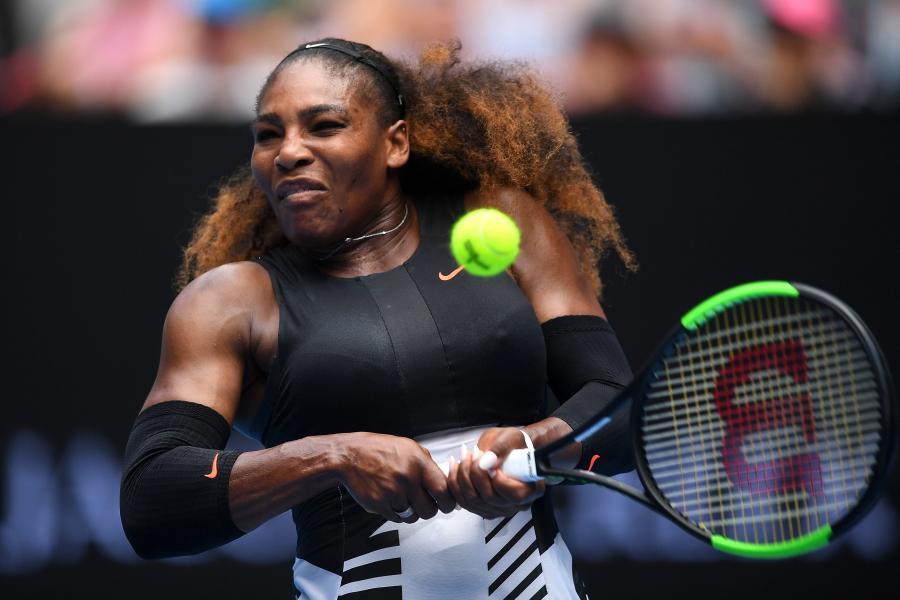 Serena Williams bez straty seta w ćwierćfinale