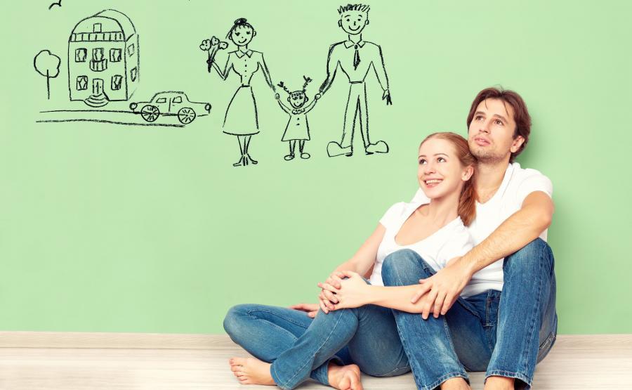 Para młodych ludzi planuje przyszłość