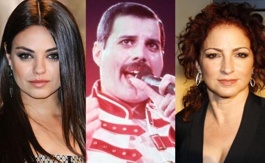 Mila Kunis, Freddie Mercury, Gloria Estefan
