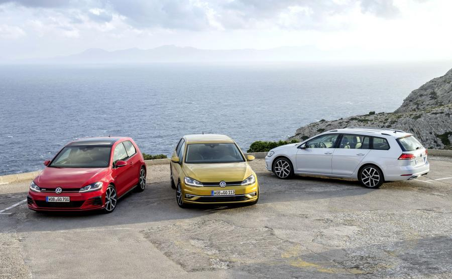 Volkswagen golf GTI, golf i golf variant