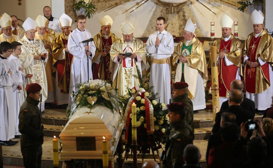 Pogrzeb zamordowanej wolontariuszki