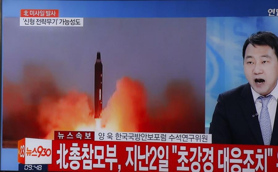 Korea Północna wystrzeliła rakietę