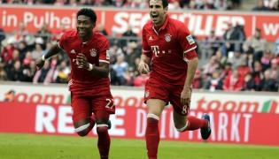 Javi Martinez i David Alaba