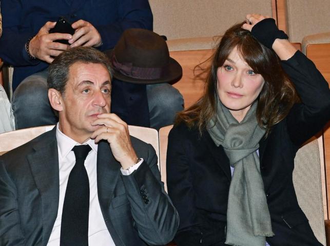 Carla Bruni i Nicolas Sarkozy