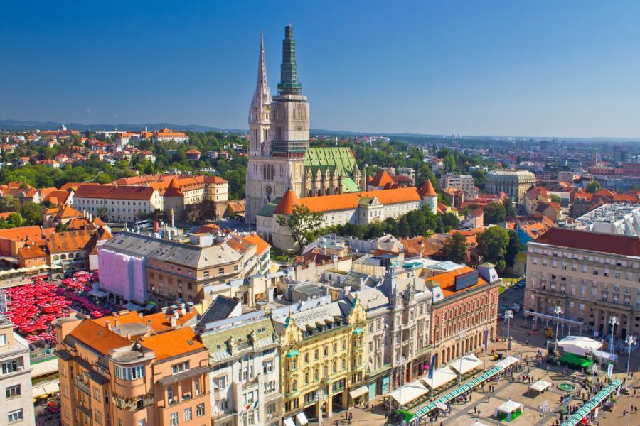 Stare miasto w Zagrzebiu